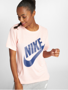 Nike T-paidat NSW Top SS Prep Futura roosa