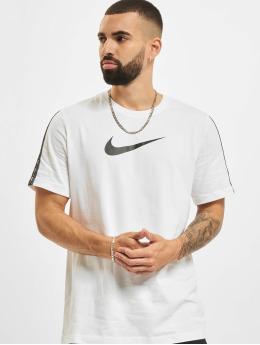 Nike T-paidat Repeat valkoinen