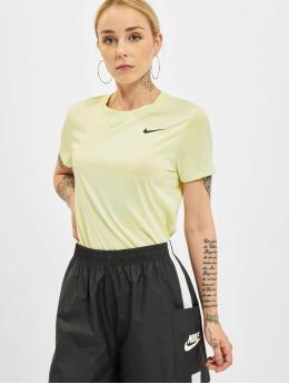 Nike T-paidat Dry Crew vihreä