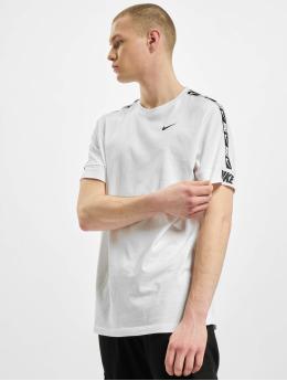 Nike T-Shirt M Nsw Repeat Ss blanc