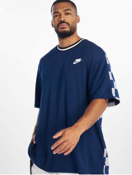 Nike T-Shirt NSP SS Check blau