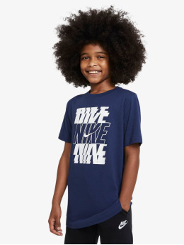 Nike T-Shirt Stack bleu