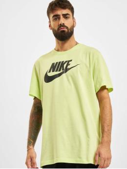 Nike t-shirt Icon Futura geel
