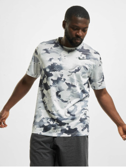 Nike T-Shirt Dry Leg Camo Allover Print grey