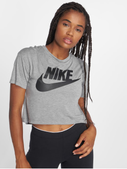 Nike t-shirt Essential grijs