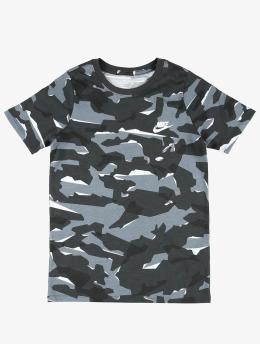 Nike T-Shirt Camo 1 gris