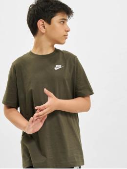 Nike T-Shirt Futura  kaki