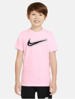 Nike T-Shirt Swoosh magenta