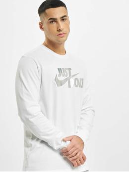 Nike T-Shirt manches longues Sportswear Brnd Mrk Foil blanc