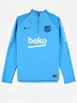 Nike T-Shirt manches longues Dry FC Barcelona Squad bleu