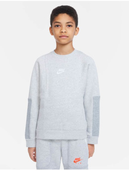 Nike T-Shirt manches longues  Air Crew gris