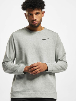 Nike T-Shirt manches longues Dri-Fit gris