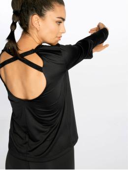 Nike T-Shirt manches longues Dry noir