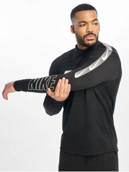 Nike T-Shirt manches longues Dry Squad Dril noir
