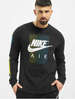 Nike T-Shirt manches longues SNKR CLTR 6 noir