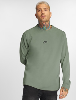 Nike T-Shirt manches longues Sportswear olive