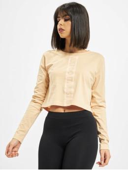 Nike T-Shirt manches longues LS Lux 3 Crop orange