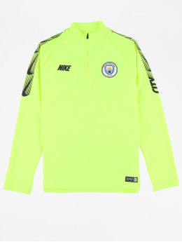 Nike T-Shirt manches longues Manchester City FC Dry Squad Dril vert