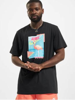 Nike T-Shirt Flamingo noir