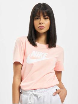 Nike t-shirt Icon Futur oranje