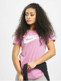 Nike t-shirt Essential Icon Futur paars