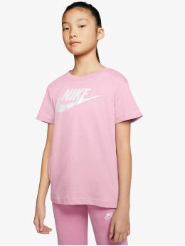 Nike t-shirt Basic Futura pink