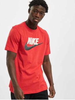 Nike T-Shirt Brand Mark rot