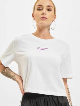 Nike T-shirt Crop vit