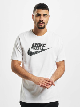 Nike t-shirt Camo SS wit