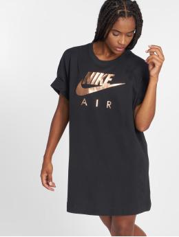 Nike t-shirt Shine zwart