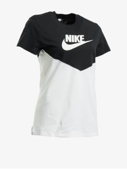 Nike t-shirt Heritage  zwart