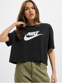 Nike t-shirt Essential Icon Future  zwart