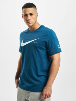Nike T-shirts Swoosh HBR blå