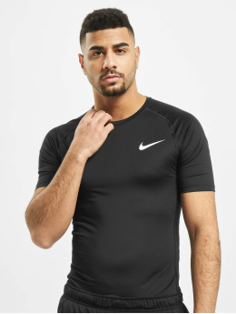 Nike T-shirts compression Pro Short Sleeve Tight noir
