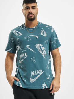 Nike T-shirts AOP grøn