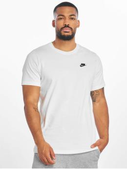 Nike T-Shirty NSW 1 T-Shirt bialy