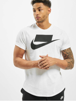 Nike T-Shirty SS 1  bialy