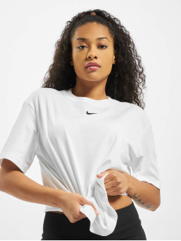 Nike T-Shirty Essential SS BF bialy