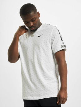 Nike T-Shirty M Nsw Repeat Ss Prnt bialy
