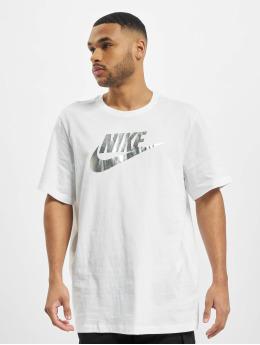 Nike T-Shirty Brnd Mrk Aplctn 1 bialy