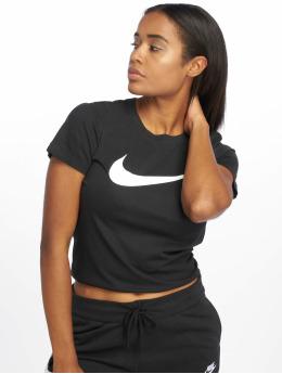 Nike T-Shirty Swoosh  czarny