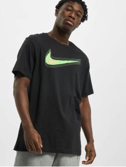 Nike T-Shirty M Nsw Swoosh 12 Month czarny