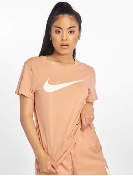 Nike T-Shirty Swoosh  rózowy