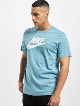 Nike T-skjorter Icon Futura blå