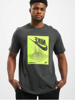 Nike T-skjorter Festival SS grå