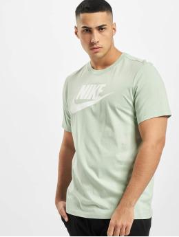 Nike T-skjorter Icon Futura grøn