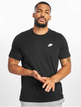 Nike T-skjorter NSW 1 T-Shirt svart