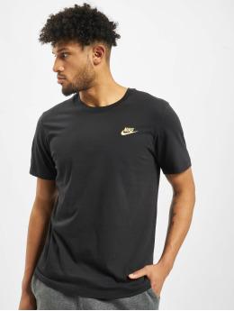 Nike T-skjorter Club  svart