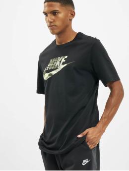 Nike T-skjorter Trend Spike svart