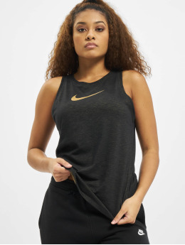 Nike Tank Tops Dry Slub Icon Cla  èierna